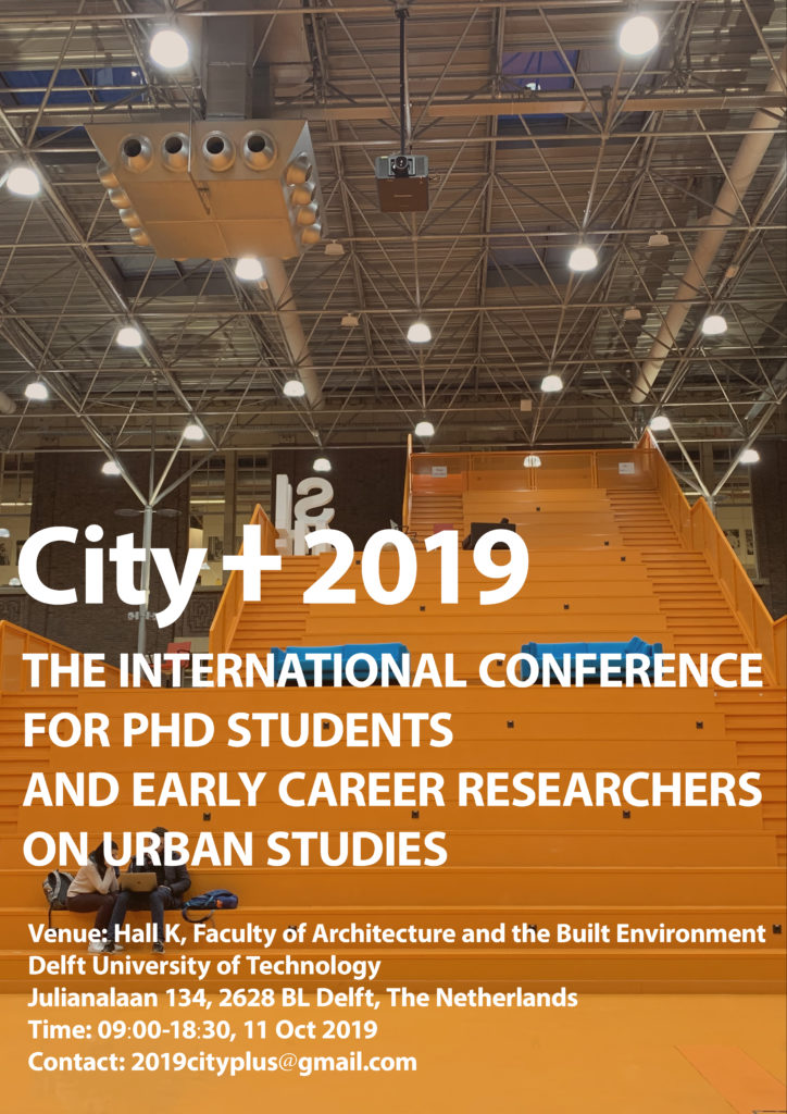 Call for Abstracts 2019 - CityPlus